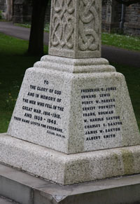 Alveston War Memorial